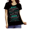 """Jenny, A Warrior Mentality With a Poet's Soul""(Flat Shipping) - LA Shirt Company"