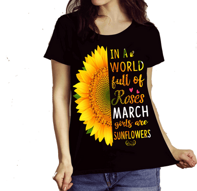 """March Combo (Sunflower And 3 Sides)"" 2 Combo Pack(Flat Shipping) - LA Shirt Company"