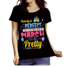 """Nobody Is Perfect, But If You Were Born In March You Are Pretty Damn Close"" 50% Off Today. Flat Shipping - LA Shirt Company"