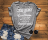 MAY GIRLS ARE SUNSHINE MIXED WITH LITTLE HURRICANE, BIRTHDAY BASH 50% OFF PLUS (FLAT SHIPPING) - LA Shirt Company