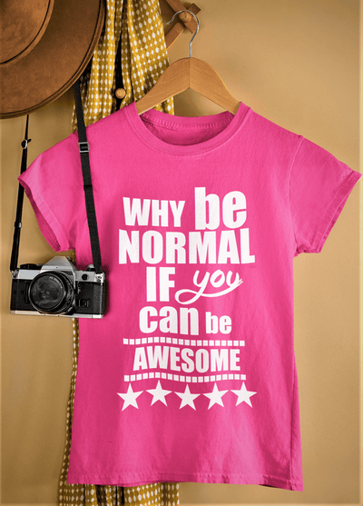 """Can Be Awesome"" T-SHIRT"
