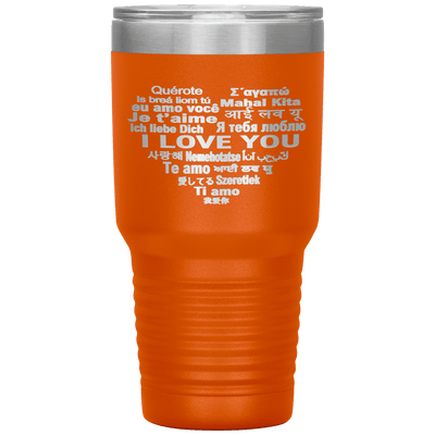 """I LOVE YOU"" Tumbler. Flat Shipping. - LA Shirt Company"