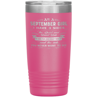 """September Girls 3 sides""Tumbler.Buy For Family & Friends. Save Shipping. - LA Shirt Company"