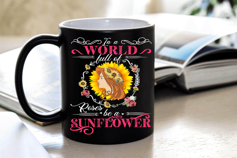 """World Full Of Roses   Mugs 50% off today - LA Shirt Company"