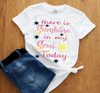 """THERE IS SUNSHINE IN MY SOUL TODAY"" (50% OFF TODAY ) Flat Shipping - LA Shirt Company"