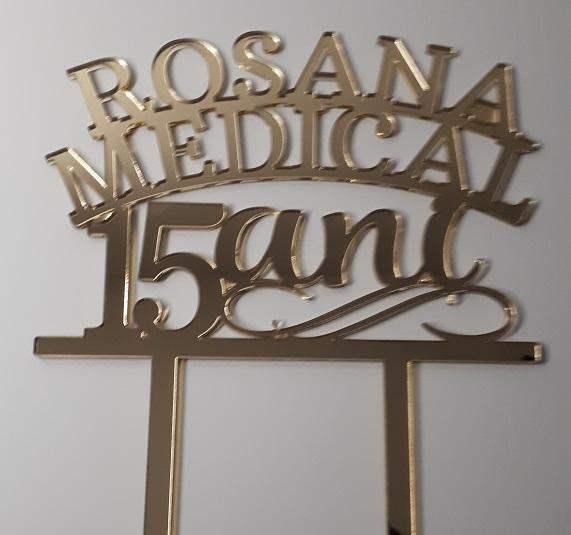 Topper Personalizat Rosana Medical - Tomvalk