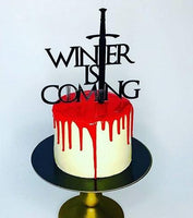 "Topper tort ""Winter is coming"""