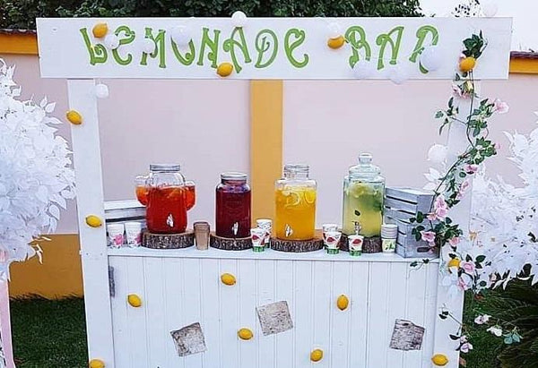 "Text decupat personalizat ""Lemonade bar"" - Tomvalk"