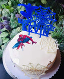 Topper tort aniversare Spiderman II - Tomvalk