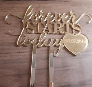 "Topper ""Forever Starts Today"""