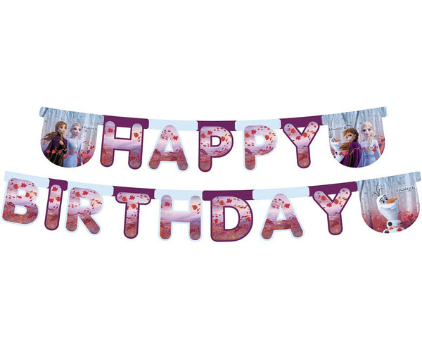 "Banner ""Happy Birthday"" Frozen- 230 cm"