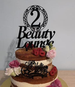Topper Personalizat Beauty Lounge