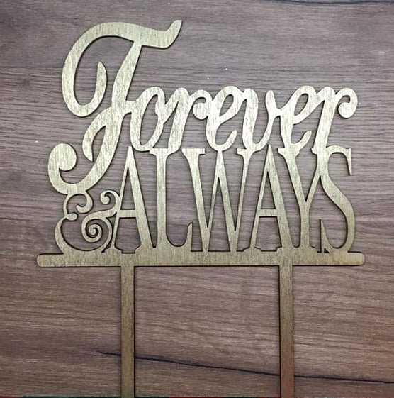 "Topper ""Forever&Always"""