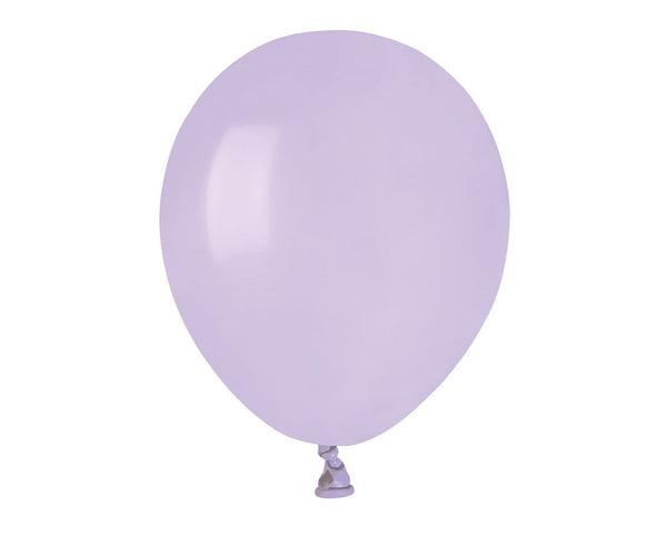 Set 100 baloane latex 13 cm - liliac - Tomvalk