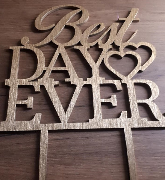 "Topper ""Best Day Ever"" III"