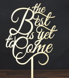 "Topper ""The Best Is Yet To Come"""