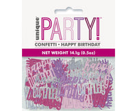 Confetti Happy birthday - roz mix - 142 g - Tomvalk
