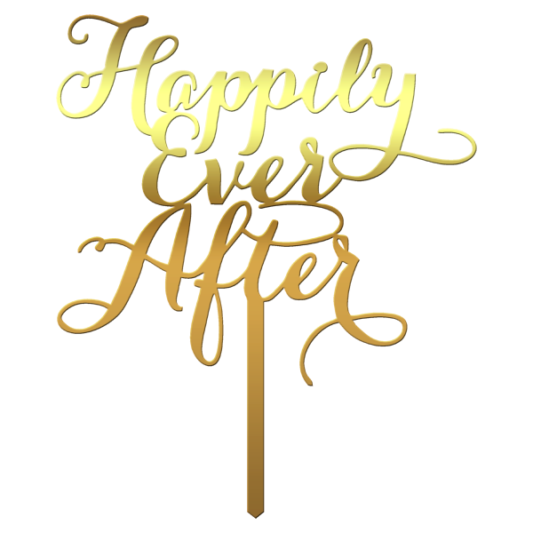 "Topper tort ""Happily Ever After"" S2 - Tomvalk"
