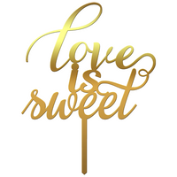 "Topper tort ""Love is sweet"" II - Tomvalk"