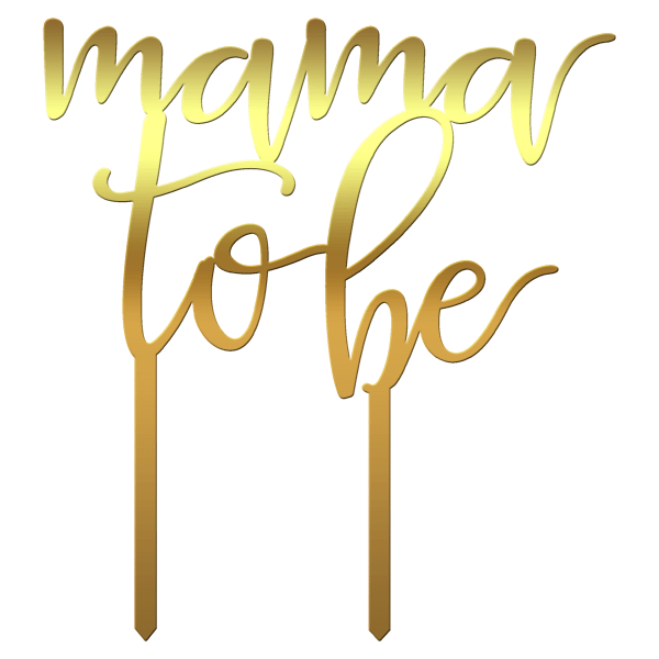 "Topper tort ""Mama to be"" - Tomvalk"