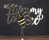 "Topper tort ""Mommy to bee"""