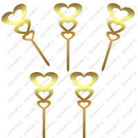 Set 10 cupcake toppers 3 inimi - Tomvalk