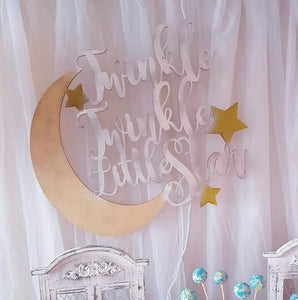 "Decoratiune ""Twinkle, Twinkle Little Star`"