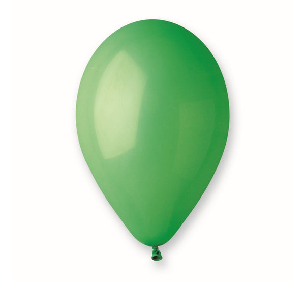 Set 100 baloane latex 25 cm - Verde Pastel - Tomvalk