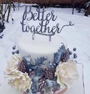 "Topper tort ""Better together"""