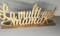 "Decoratiune ""La Multi Ani Mama"" - Tomvalk"