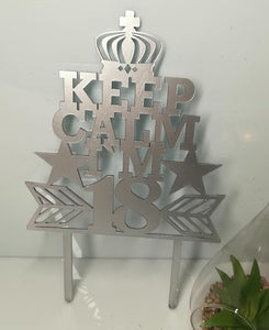 "Topper ""Keep Calm"""