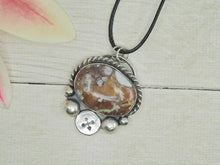 Load image into Gallery viewer, Wild Horse Magnesite Arrow Pendant - Gem & Tonik
