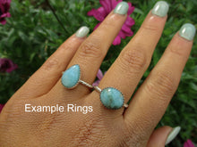 Load image into Gallery viewer, Your Custom Peruvian Blue Opal Ring - Made to Order - Gem & Tonik
