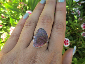 Purpurite Ring - Size 7 1/2 - Gem & Tonik