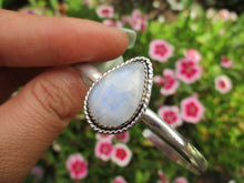 Load image into Gallery viewer, Moonstone Cuff Bracelet - Sterling Silver - Gem & Tonik