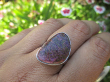 Load image into Gallery viewer, Purpurite Ring - Size 7 1/2 - Gem & Tonik