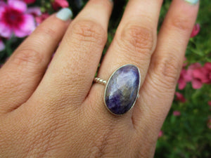 Amethyst Ring - Size 6.5 - Sterling Silver - Gem & Tonik