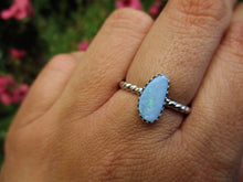 Load image into Gallery viewer, Coober Pedy Australian Opal Ring - Size 6 3/4 - Sterling Silver - Gem & Tonik