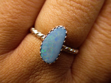 Load image into Gallery viewer, Coober Pedy Australian Opal Ring - Size 6 3/4 - Gem & Tonik