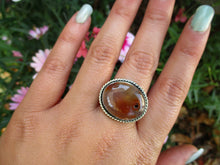 Load image into Gallery viewer, Carnelian Statement Ring - Size 8 - Gem & Tonik