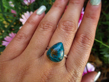 Load image into Gallery viewer, Chrysocolla Ring - Size 8 1/2 - Gem & Tonik