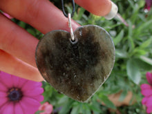 Load image into Gallery viewer, Rough Labradorite Heart Pendant - Sterling Silver - Gem & Tonik