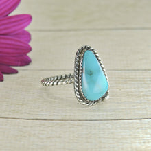 Load image into Gallery viewer, Nacozari Turquoise Ring - Size 9.5 - Sterling Silver - Gem & Tonik