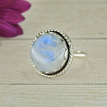 Load image into Gallery viewer, Blue Moonstone Ring - Size 8 1/4 - Gem & Tonik