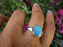Load image into Gallery viewer, Morenci Turquoise Ring Size - 8 3/4 - Sterling Silver - Gem & Tonik