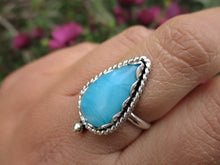 Load image into Gallery viewer, Smithsonite Ring - Size 7 1/4 - Sterling Silver - Gem & Tonik