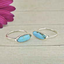 Load image into Gallery viewer, Your Custom Hubei Turquoise Stacker Ring - Made to Order - Gem & Tonik