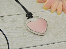 Load image into Gallery viewer, Pink Opal Heart Pendant - Gem & Tonik