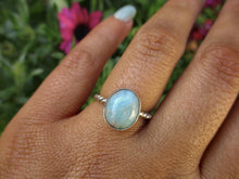Load image into Gallery viewer, Larimar Ring - Size 5 1/2 - Gem & Tonik