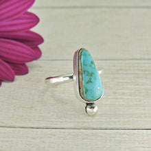 Load image into Gallery viewer, Compass Turquoise Ring - Size 6 1/2 - Gem & Tonik